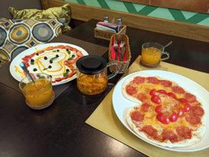 Пиццы на День святого Валентина